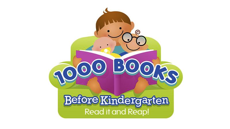 1000 Book Before Kindergarten Logo