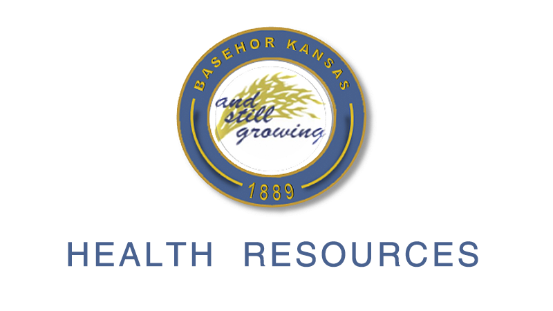 City of Basehor Logo and Health Resources