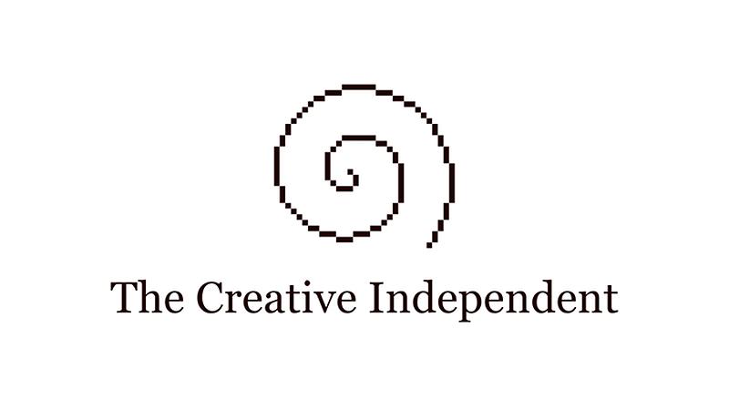 The Creative Independent Logo (spiral)