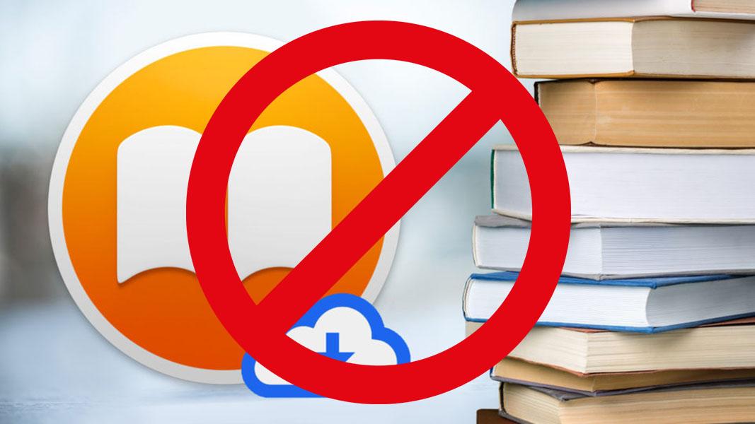 Downloading online books restricted symbol