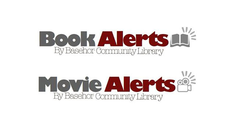 Book Alerts and Movie Alerts logos