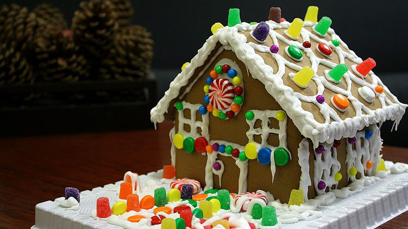 Annual Gingerbread House Craft