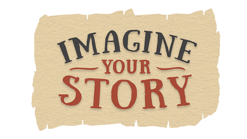 2020 Summer Reading Program Logo - Imagine Your Story