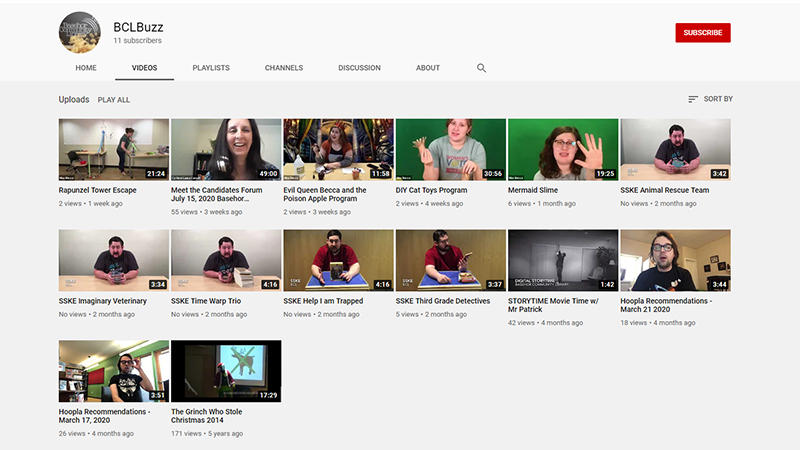BCL YouTube Channels