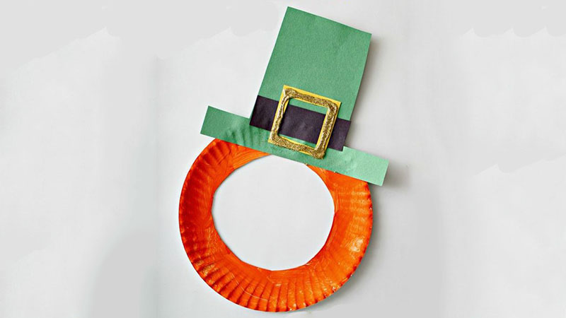 To Go Craft Leprechaun Masks