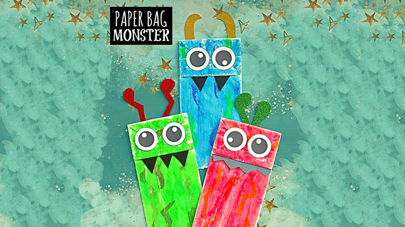 To-Go Craft: Monster Puppets