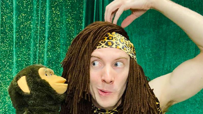 Brett Crandall as Tarzan