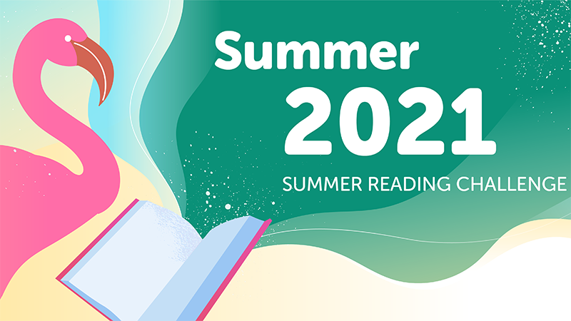 Tails And Tales 2021 Summer Reading Challenge Banner